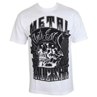 tričko pánske METAL MULISHA - WOODCUT - WHT, METAL MULISHA