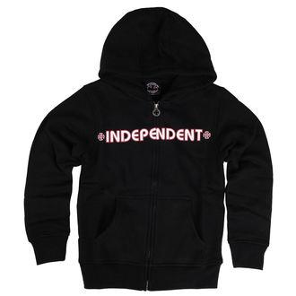 mikina detská INDEPENDENT - Bar Cross - Black, INDEPENDENT