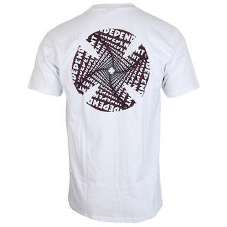 tričko pánske INDEPENDENT - Spiral White, INDEPENDENT