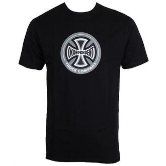 tričko pánske INDEPENDENT - 88 TC Black - INATEE-103 BLACK