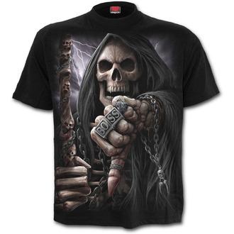 tričko pánske SPIRAL - BOSS REAPER - Black, SPIRAL