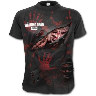 tričko pánske SPIRAL - ZOMBIE - ALL INFECTED - Walking Dead Ripped - Black, SPIRAL