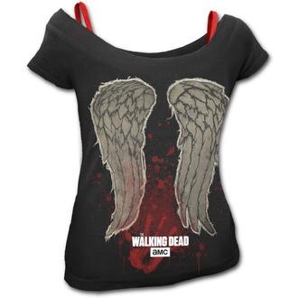 tričko dámske SPIRAL - NOBODY'S BITCH - Walking Dead - Black, SPIRAL