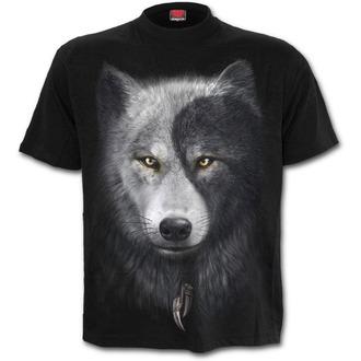 tričko pánske SPIRAL - WOLF CHI - Black, SPIRAL