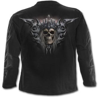 tričko pánske s dlhým rukávom SPIRAL - DEATH'S ARMY - Black
