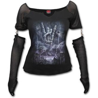 tričko dámske s dlhým rukávom SPIRAL - ROCK ETERNAL
