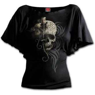 tričko dámske SPIRAL - DARK ANGEL - Black, SPIRAL