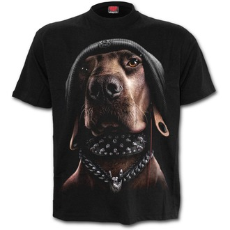tričko pánske SPIRAL - DAWG - Black, SPIRAL