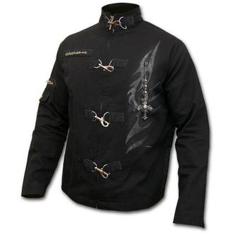 bunda pánska jarno/jesenná SPIRAL - TRIBAL CHAIN - Orient Goth Black, SPIRAL
