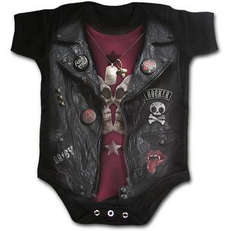 body detské SPIRAL - BABY BIKER - Black, SPIRAL