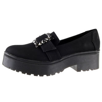 topánky dámske IRON FIST - Nocturnal Cleated Sole Flat - IFW006008-BLACK
