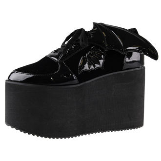topánky dámske IRON FIST - Creature Of The Night Flatform - IFW006007-BLACK