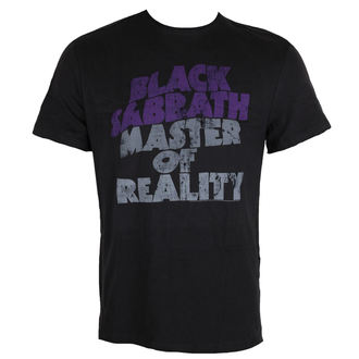 tričko pánske AMPLIFIED - BLACK SABBATH - MASTER OF REALITY, AMPLIFIED, Black Sabbath