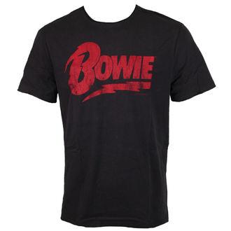 tričko pánske AMPLIFIED - DAVID BOWIE - LOGO, AMPLIFIED, David Bowie