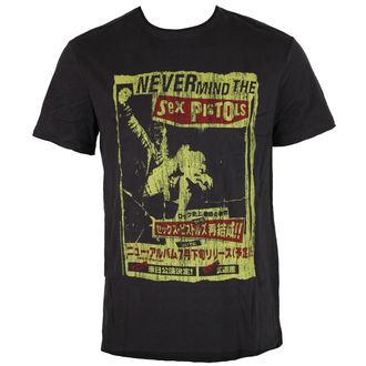 tričko pánske AMPLIFIED - SEX PISTOLS - NEVERMIND THE SEX PISTOLS, AMPLIFIED, Sex Pistols