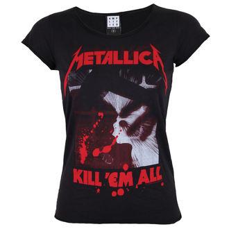 tričko dámske AMPLIFIED - METALLICA - KIL L EM ALL, AMPLIFIED, Metallica