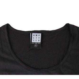 tričko dámske AMPLIFIED - THE CLASH BOLT - Charcoal, AMPLIFIED, Clash