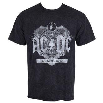 tričko pánske AC/DC - Black Ice - Black - ROCK OFF, ROCK OFF, AC-DC