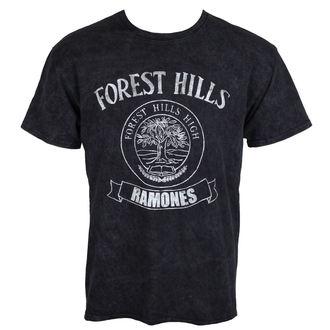tričko pánske Ramones - Forest Hills - Black - ROCK OFF, ROCK OFF, Ramones