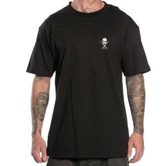 tričko pánske SULLEN - STANDARD ISSUE - BLACK/WHITE - SCM0019_BKWT