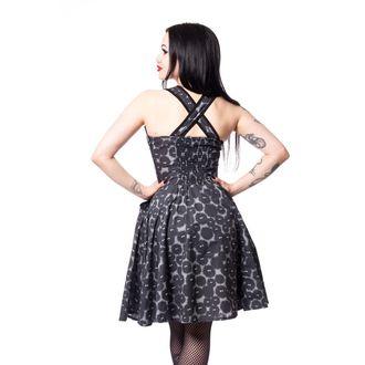 šaty dámske CUPCAKE CULT - DUST - BLACK/GREY, CUPCAKE CULT