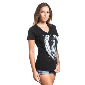 tričko dámske SULLEN - INK ANGEL - BLACK, SULLEN