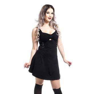 šaty dámske Poizen industries - LEANDRA - BLACK, POIZEN INDUSTRIES
