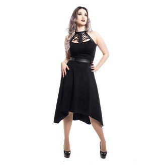 šaty dámske Poizen industries - RAVETTE - BLACK, POIZEN INDUSTRIES