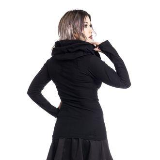 tričko dámske s dlhým rukávom (mikina) Vixxsin - PURITY - BLACK
