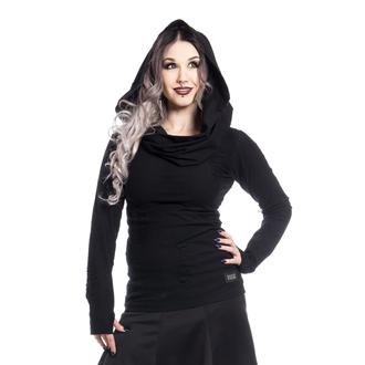tričko dámske s dlhým rukávom (mikina) Vixxsin - PURITY - BLACK, VIXXSIN