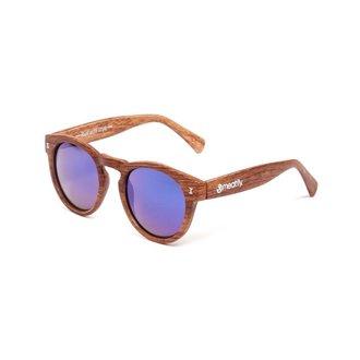 okuliare slnečné MEATFLY - Lunaris - E - Brown / Wood, MEATFLY