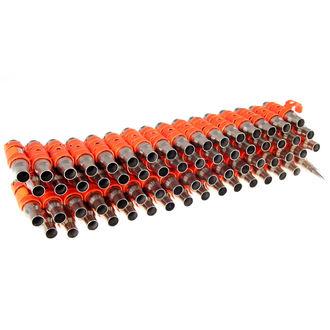 opasok Silver & Fluorescent - Orange Metal Bullet