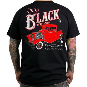 tričko pánske BLACK HEART - PICK UP - BLACK, BLACK HEART