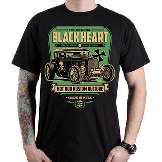 tričko pánske BLACK HEART - UNITED - BLACK, BLACK HEART