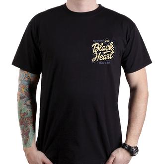 tričko pánske BLACK HEART - JENNY - BLACK, BLACK HEART
