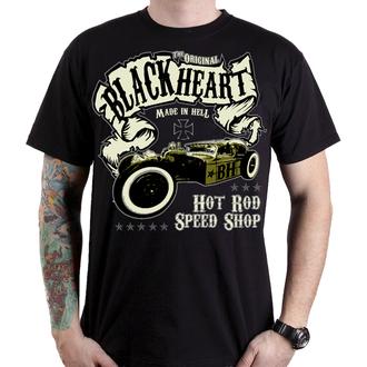 tričko pánske BLACK HEART - BANDIT - BLACK, BLACK HEART