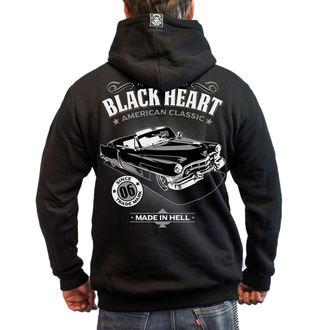 mikina BLACK HEART - CADILLAC - BLACK, BLACK HEART