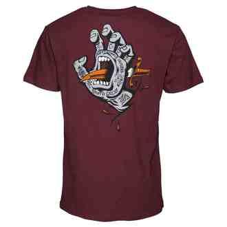 tričko pánske SANTA CRUZ - Flash Hand Colour, SANTA CRUZ