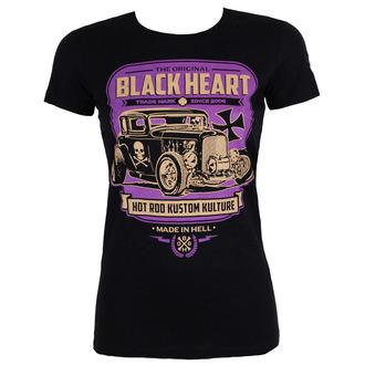 tričko dámske BLACK HEART - UNITED - BLACK, BLACK HEART