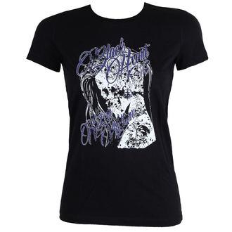 tričko dámske BLACK HEART - PUNK - BLACK, BLACK HEART