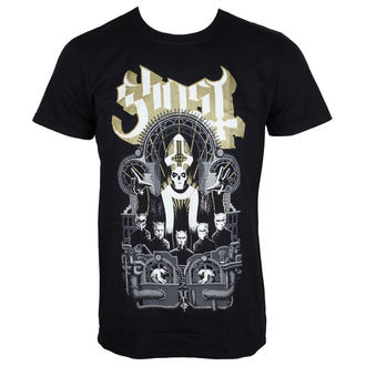 tričko pánske Ghost - Wegner - Black - ROCK OFF, ROCK OFF, Ghost