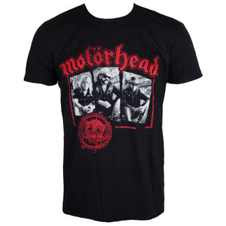 tričko pánske Motörhead - Stamped - Black - ROCK OFF, ROCK OFF, Motörhead