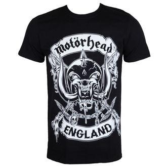 tričko pánske Motörhead - Crosses Sword England - Black - ROCK OFF, ROCK OFF, Motörhead