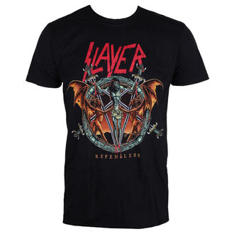 tričko pánske Slayer - Demon Christ Repentless - Black - ROCK OFF, ROCK OFF, Slayer