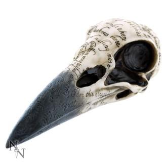 dekorácia Edgar 's Raven Skull