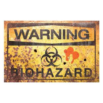 dekorácia (ceduľa) Warning Bio Hazard