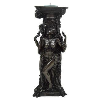 svietnik (dekorácia) Bronze Triple Goddess