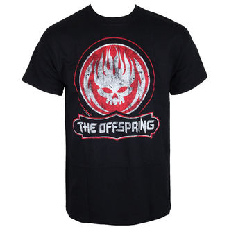 tričko pánske The Offspring - Distressed Skull - Black, NNM, Offspring