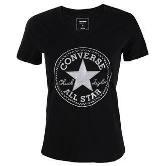 tričko dámske CONVERSE - Metallic Chuck Patch Vneck, CONVERSE