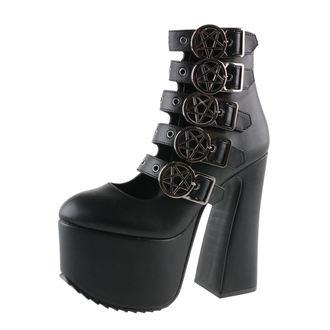 topánky dámske KILLSTAR - Burial - Black, KILLSTAR